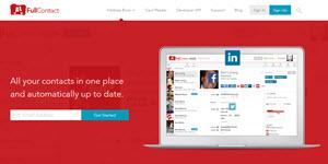 FullContact - administrar todos los contactos en las redes sociales desde un solo sitio web