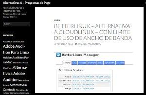 Alternativas A, sitio web para encontrar software libre alternativo a los privativos