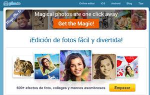 Pho.to, editar fotos online y crear fotomontajes divertidos