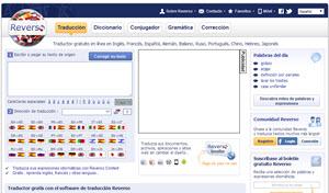 Reverso, completísimo diccionario de idiomas con corrector de gramática y ortografía