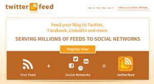 Twitterfeed, publica tus posts en Twitter y Facebook automáticamente