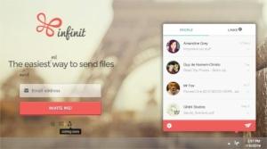 Infinit.io - compartir archivos pesados, sin límites de tamaño