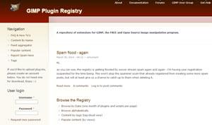 Gimp Plugin Registry, miles de extensiones, plugins y scripts gratuitos para Gimp