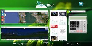 Startific - página de inicio para nuestro navegador web