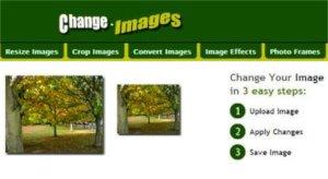 Change Images - editor de fotos online para usar desde cualquier equipo