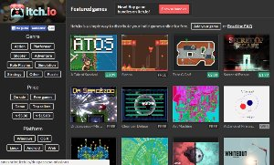 Itch.io - plataforma con cientos de juegos gratis independientes