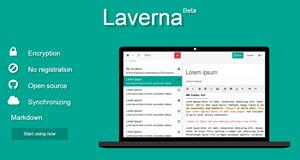 Laverna - gestor de notas online open source