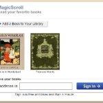 MagicScroll – lector de ebooks online para múltiples formatos