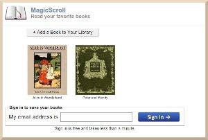 MagicScroll - lector de ebooks online para múltiples formatos