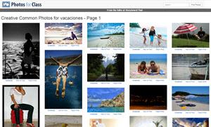 Photos for Class - buscador de imágenes y fotos Creative Commons