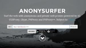 AnonySurfer - Navegar por la web anónimamente