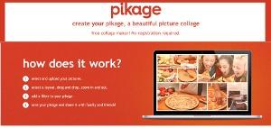 Pikage - crear collage de fotos desde la web
