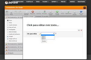 JotForm - editor online para crear formularios profesionales para la web