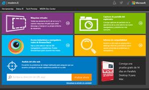 Modern.IE - pruebas de compatibilidad y funcionalidad de los sitios web