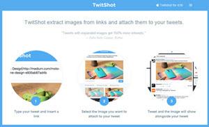 TwitShot - una forma fácil de compartir imágenes junto con tus tweets