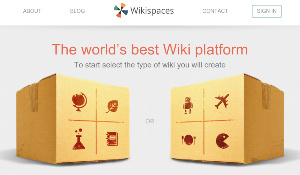 Wikispaces - crear tu propia Wikipedia