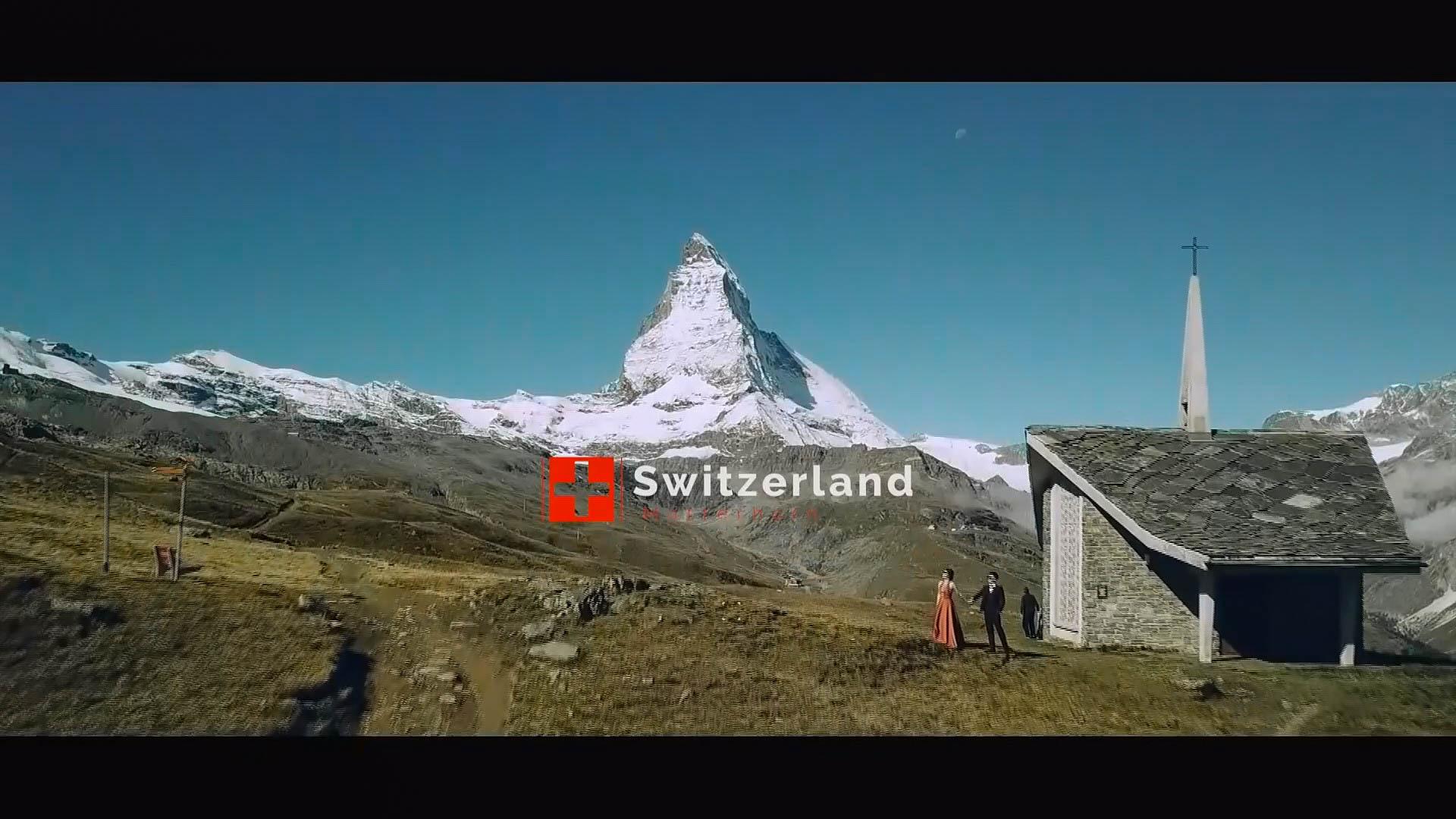 海外 Prewedding Denny & Karol 地點 瑞士 Switzerland [婚紗側錄 空拍 婚錄]