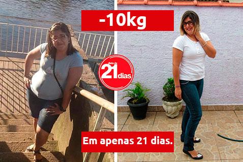Dieta de 21 dias: antes e depois