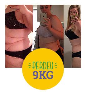 Perdeu 9kg com a dieta detox