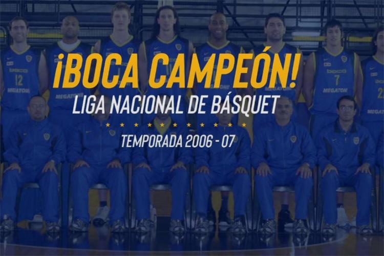 Nuestros campeones: Liga Nacional 2006/2007