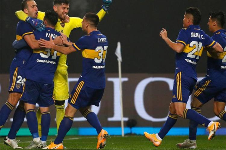 Boca superó por penales a River y avanza a cuartos