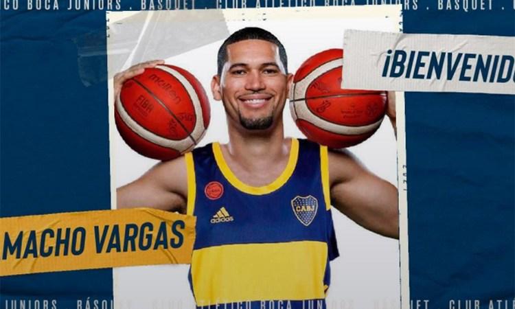 El dominicano Camacho Vargas se suma a Boca