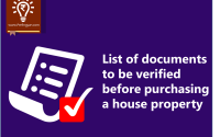 List of documents to verify before property purchase