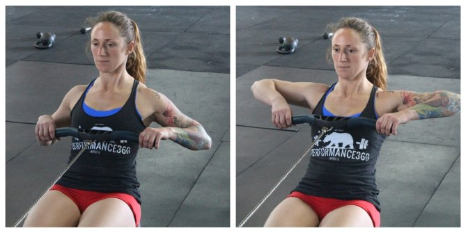 Row Flared Elbows