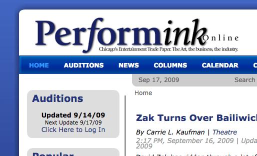 PerformInk Is Back!