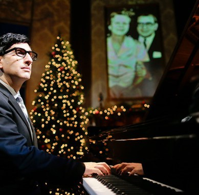 HERSHEY FELDER AS IRVING BERLIN Provides A Lighthearted, Sentimental Tribute to the Great Composer