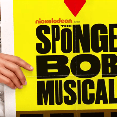 SPONGEBOB Extends at Oriental
