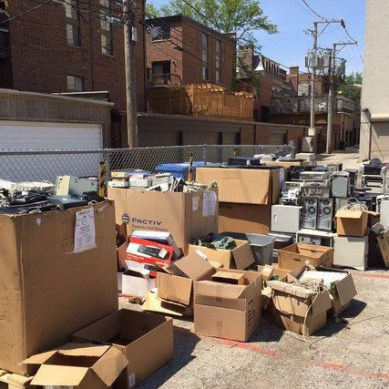 Recycle Electronics, Fabric, and Costumes This Thursday at Steppenwolf