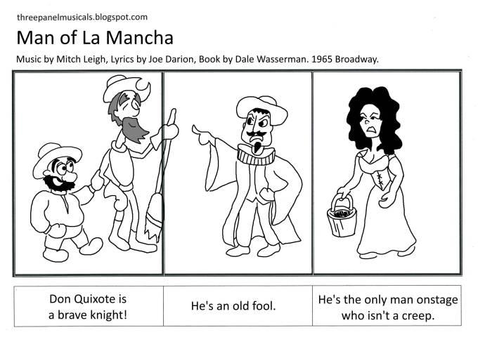 3PM Man of La Mancha