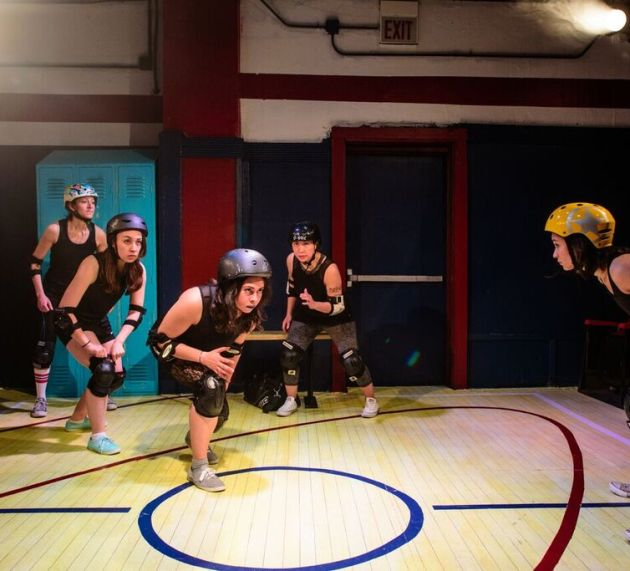 FOR THE LOVE OF Features Badass Women in the Roller Rink