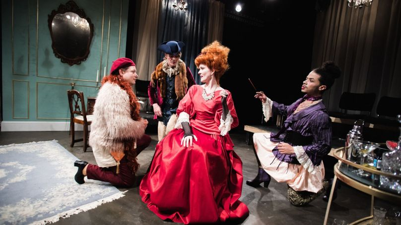 Review: THE SCHOOL FOR LIES at The Artistic Home