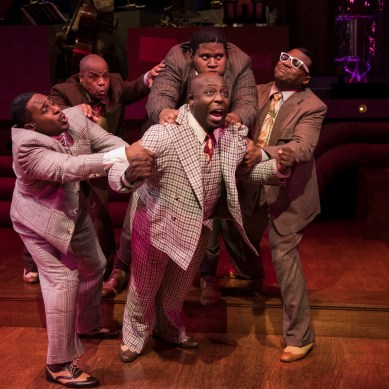 Review: FIVE GUYS NAMED MOE at Court Theatre