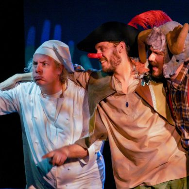 Review: LITTLE RED CYRANO at Red Theater