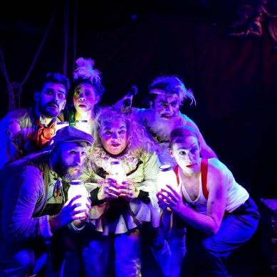 Review: BURNING BLUEBEARD at Neo-Futurists