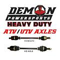 1 YEAR WARRANTY ON ALL DEMON AXLES!!!