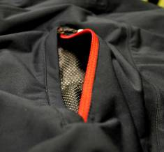 Zippered rear pocket keeps your valuables safe