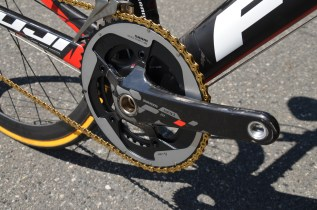 The Red 22 Exogram crank is one of the lightest cranks you can find