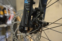 Poorly adjust brakes, especially disc brakes, can make a squeaking or rubbing sound