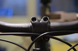 Loose handlebars will make a higher-pitched squeaking sound