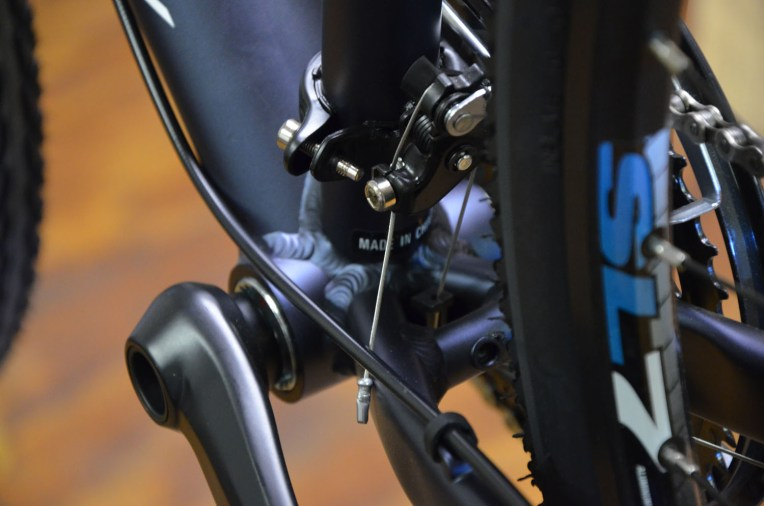 Greasing your bottom bracket can help protect it from salt and road spray, improving performance and prolonging wear life