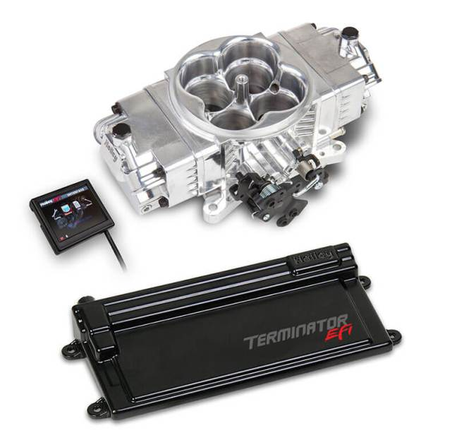 Holley (550-443): Terminator Stealth EFI Kit with GM Transmission Control