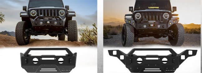 ICI Front Bumpers for Jeep Gladiator