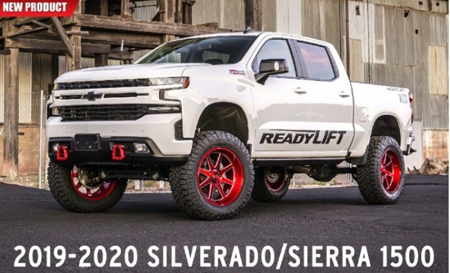 ReadyLIFT 6 and 8 Inch Big Lift Kits for 19-20 GM 1500