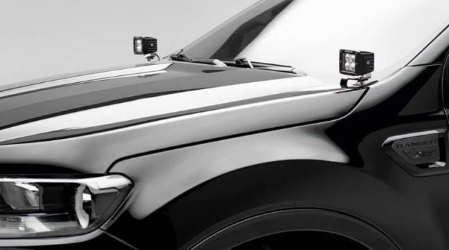 ZROADZ Hood Hinge LED Bracket for 19-20 Ford Ranger Z365821