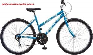 Pacific Women's Stratus Mountain Bike, Blue, 26-Inch