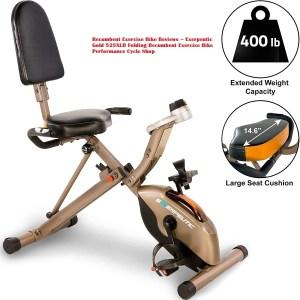 Recumbent Exercise Bike Reviews